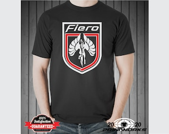 Pontiac Fiero Logo Custom Sports Car Retro Fiero Formula, Fiero GT  Screen Printed T-Shirt