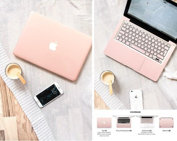 Macbook Skin Rose Gold Ombre Keyboard Stickers Skin Macbook