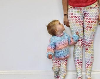 Bob Loves Yoga maternity/post-natal yoga leggings/pants