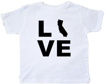 Love California Toddler T-Shirt by inktastic