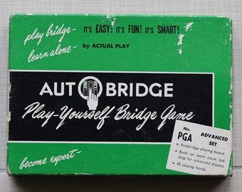 Auto Bridge Play Yourself Bridge Game Autobridge 1957