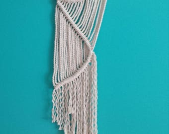 Macrame/Wall Hanging/Firbe Art/Weaving/Modern Macrame/Wall Art
