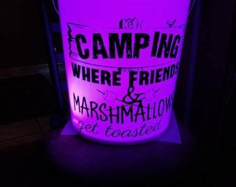 Camping bucket