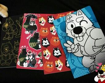 GAB SHIBA Sketchbooks