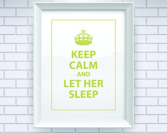 Green Print, Keep Calm, Art, Prints, Typography Quote, Wall Art Prints, Poster, Typography, Typography Print, Typography Art, Quotes, 029
