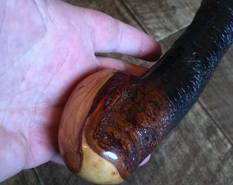 Blackthorn Walking Stick - 33 1/2 inch Handmade in Ireland by me