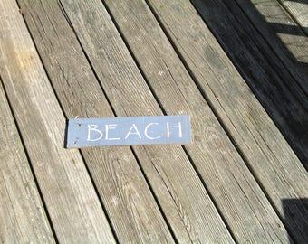 BEACH SIGN, COASTAL, nautical, coastal