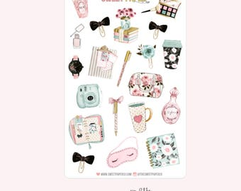 Decorative Planner Stickers | BLOOM