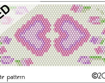 Mother's Heart Peyote Pattern .PDF File