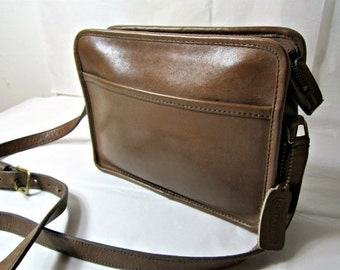 COACH Purse, Coach Brown Leather Bag, Coach Durable Leather Classic