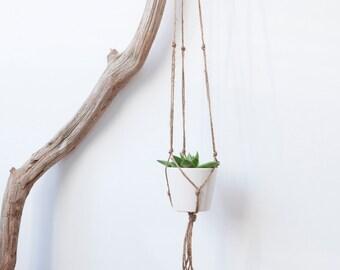 Plant hanger jute- small