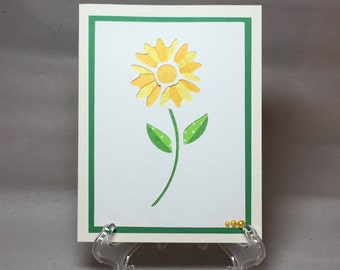 Iris Folded Card, Greeting Card, Mother's Day Card, Best Friend Card, Because Card, Birthday Card, Thank You Card, Flower Card