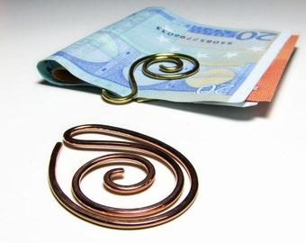 Planner accessories Metal bookmark Money clip Planner clip Office desk accessories Mens accessories Groomsmen gift For women Unique bookmark