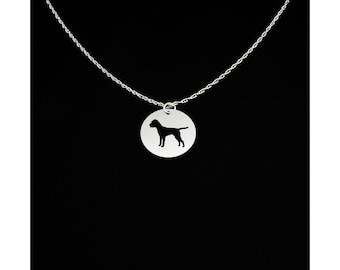 Border Terrier Necklace - Border Terrier Jewelry - Border Terrier Gift
