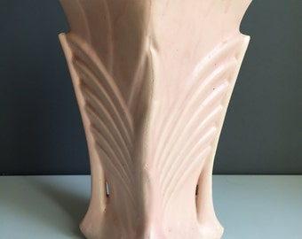 Pink McCoy Pottery Vase