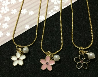 Sakura Cherry Blossom Necklace