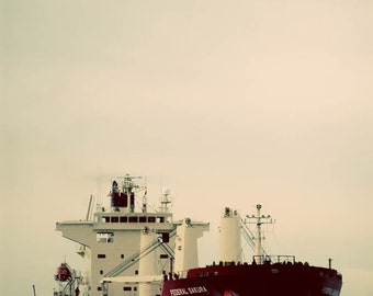 boat ship photograph transportation winter steam