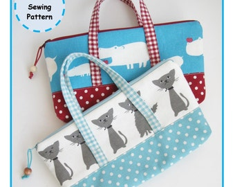 PDF Children's Pencil Bag Sewing Pattern - Zakka - Instant Download