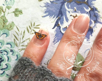 Miniature Butterflies for craft projects / decoration / embellishments