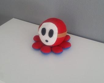 Shy Guy Octopus Plush