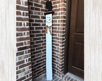 Frosty Snowman, Frosty Decor, Snowman Sign, Snowman Decor, Frosty Decorations, Snow Sign, Christmas Decor, Christmas Porch Sign, Rustic Sign