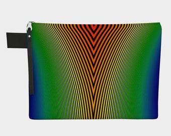 Rainbow Stripes Carry All Bag