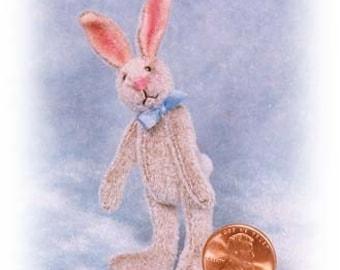 Kit de lapin Miniature lapin maigre - motif - par Emily agriculteur