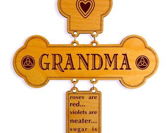 Grandmother Mothers Day Gift - Gifts for Grandma - Mother's Day Gift for Nana from Grand children - Grandkids