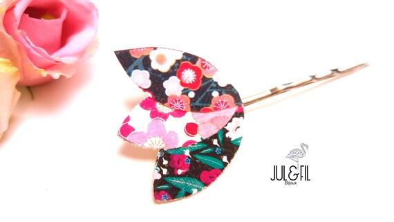 Organic cotton Japanese hair printed jewelry