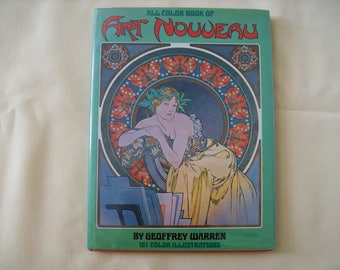 All Color Book of Art Nouveau Hardcover 1972. Price Includes Shipping.