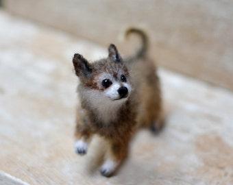 Custom dog portrait dog stuffed animal dog art doll dog sculpture pet portrait personalized dog lover gift chihuahua dog