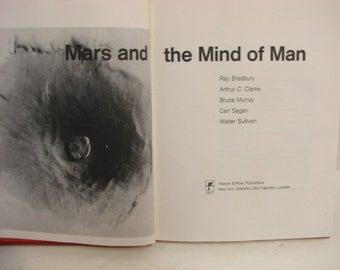 Mars and the Mind of Man Book, Bradbury Clarke Sagan Murray Sullivan, First Edition 1973 H/B