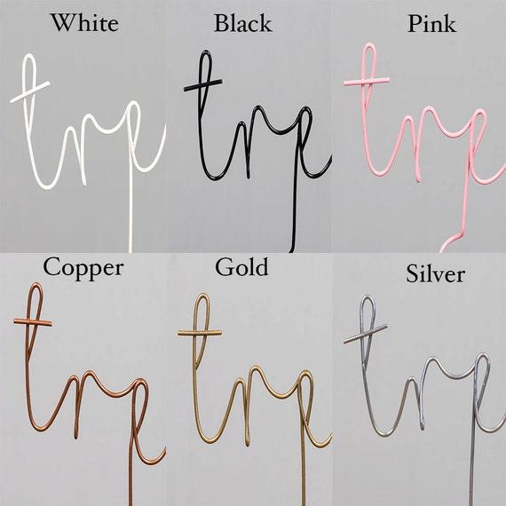 Draht Goldbuchstaben Buchstaben Wohnkultur Kupfer Draht