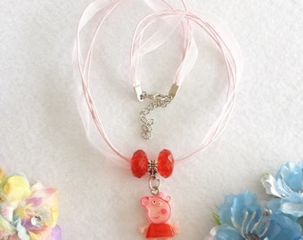 Peppa Pig Necklace