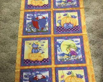 Happy Haunting Fabric Panels - SO CUTE!!