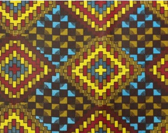 Ankara fabric - African print fabric - African material - Wholesale fabric -  Polyester fabric - African cloth - 6 yards