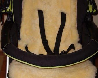 Natural Sheepskin Baby Liner - Pram , Pushchair , Stroller , Car seat , Gift