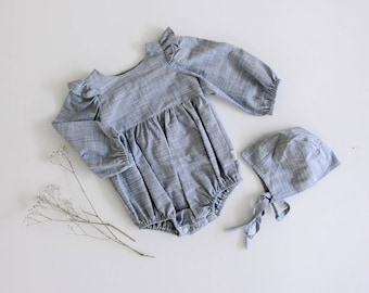 Kelsie Long Sleeve Romper