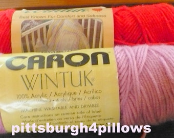 New Listing -  Assorted Manufactures - Wintuk - 3.5 to 4 Oz. Skeins - See description - Some Price Reduction On One - Price Is For All