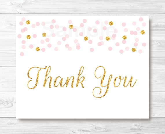 Folded Thank You Cards Random Attachment Perfect Design Thank You - 4x6 thank you card template