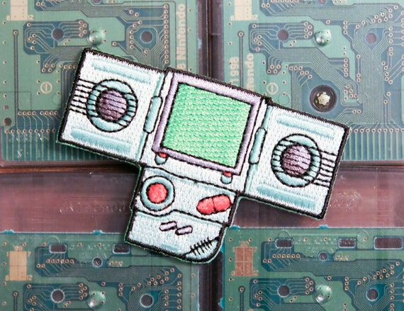 Nintendo Game Boy Handy Boy Woven Patch Perfect for the 90's kids in your life