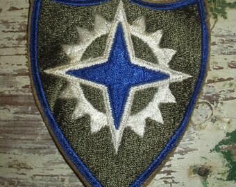 Vintage WWII WW2 Army Patch Military