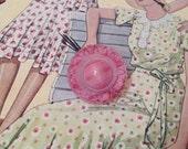 Gorgeous Vintage Pink Gla...