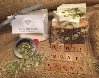 Nanny Goat Farms Lemongrass Ginger Goat's Milk Soap