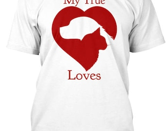My True Loves are My Dog and Cat