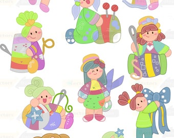 My cute little Tailor ,Tailor clipart,baby clipart,commercial use,vector graphics,digital clip art,Instant download