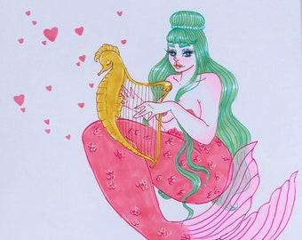 Music Mermaid Original