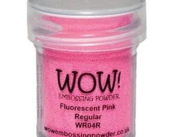 WOW-Embossing Powder-FLUORESCENT PINK-Regular