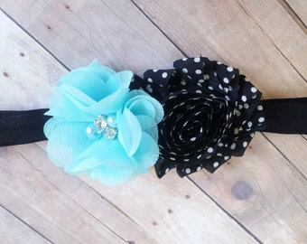 Baby Girl Headband, Teen Hair Bows, Infant headband, Headbands For Kids, Newbirn Headband, Black Baby Headband, Polka Dot Headband, Bows