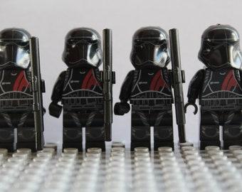 Fantasy Star Wars Clone Storm Black Trooper Mini Figures Fit Lego The Last Jedi
